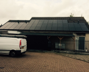 40 Solarworld panelen FB 280 Wp met Solaredge optimizers en Solaredge SE10000 driefase omvormer